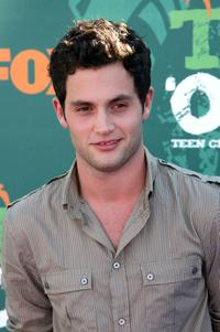 Penn Badgley at the 2008 Teen Choice Awards.