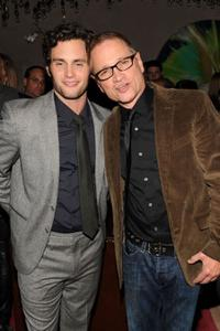 Penn Badgley and Clint Culpepper at the after party of the New York premiere of