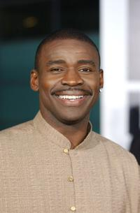 Michael Irvin at the premiere of