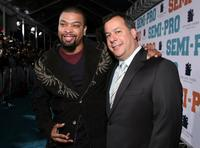 DeRay Davis and Kent Alterman at the premiere of