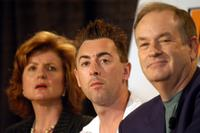 Arianna Huffington, Alan Cumming and Bill O'Reilly at the Arts, Education And The 21st Century Economy.