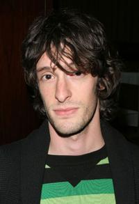 Will Janowitz at the special screening of