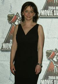 Rachel Dratch at the press room during 2004 MTV Movie Awards.