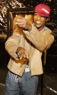 De'Angelo Wilson at the premiere of