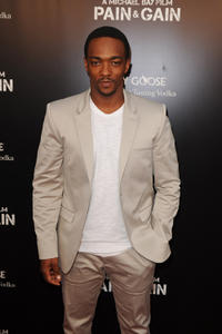 Anthony Mackie at the Florida premiere of
