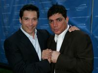 Benito Martinez and Michael DeLorenzo at the Television Academy Honors.