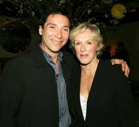 Benito Martinez and Glenn Close at the after party of the premiere of