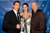 Benito Martinez, Luara Harring and Charles H. Eglee at the VIP post party for the 2007 NCLR ALMA awards.