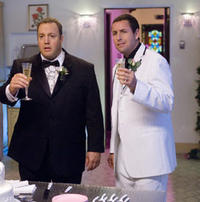Kevin James and Adam Sandler in