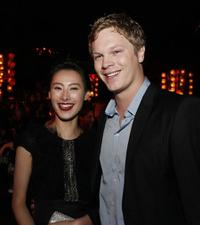 Isabella Leong and Luke Ford at the after party of the premiere of