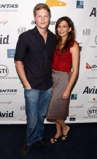 Luke Ford and Director/Writer Elissa Down at the Australians Screening Of