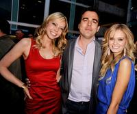 Riki Lindhome, Dennis Iliadis and Sara Paxton at the premiere of