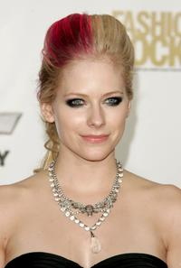 Avril Lavigne at the Conde Nast Media Group's Fourth Annual Fashion Rocks Concert.