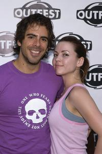 Eli Roth and Jessica Chandler at the Outfest 2004 Awards Night during the 22nd L.A. Gay and Lesbian Film Festival.