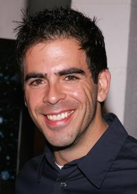 Eli Roth at the premiere of