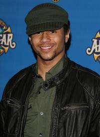 Corbin Bleu at the 57th NBA All-Star Game during the 2008 NBA All-Star Weekend.