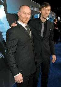 Matt Gerald and Joel Moore at the premiere of