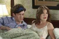 Johnny Sneed and Michelle Monaghan in