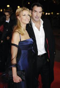 Alexandra Lamy and Jean Dujardin at the 32nd Nuit des Cesar ceremony, France's top movie awards.
