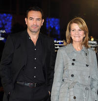 Jean Dujardin and director Nicole Garcia at the Tribute to the French Cinema during the 10 th Marrakech Film Festival.