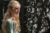 Elle Fanning as Princess Aurora in