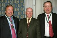 Tommy Lee Jones, Tim Gannon and Jack Donilon at the Great Sports Legends Dinner at the Waldorf Astoria.