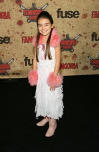 Ariel Gade at the fuse Fangoria Chainsaw Awards.