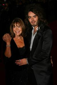Russell Brand and Guest at the premiere of