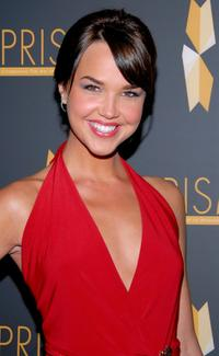 Arielle Kebbel at the 11th annual PRISM Awards.