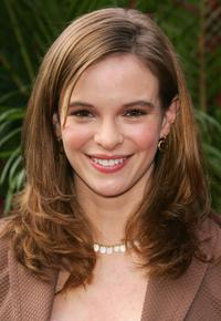 Danielle Panabaker at the CBS Upfront Presentation.