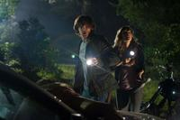 Jared Padalecki as Clay and Danielle Panabaker as Jenna in