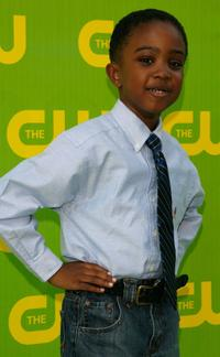 Khamani Griffin at the CW Launch Party.