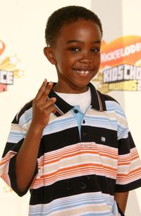 Khamani Griffin at the 20th Annual Kid's Choice Awards.