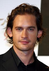Will Kemp at the press conference to promote