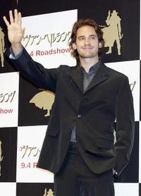 Will Kemp at the press conference of