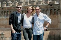 Antonio Banderas, Justin Timberlake and Cameron Diaz at the