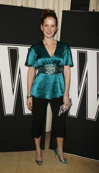 Rebecca Mader at the W Magazine's Hollywood Affair to celebrate the 2007 Golden Globes.