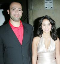 Peter Macdissi and Summer Bishil at the world premiere of