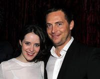 Claire Foy and Stephen Campbell Moore at the after party of New York premiere of