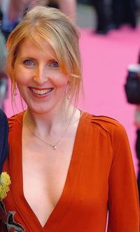 Fenella Woolgar at the London premiere of