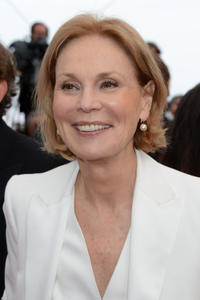 Marthe Keller at the premiere of