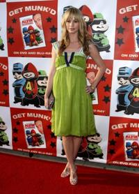 Cameron Richardson at the DVD release party and charity concert event of 20th Century Foxs