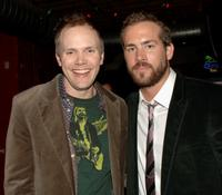 Joel McHale and Ryan Reynolds at the after party of the premiere of