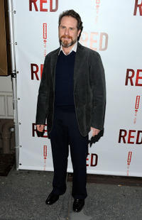 Remy Auberjonois at the Broadway opening of