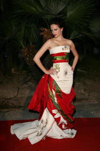 "Eva Green at the New Line Cinema 40th Anniversary ""Golden Compass"" Party in Cannes, France."