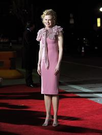 Nicole Kidman at the California premiere of