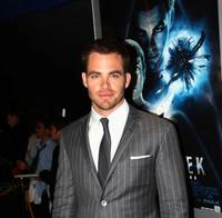 Chris Pine at the premiere of