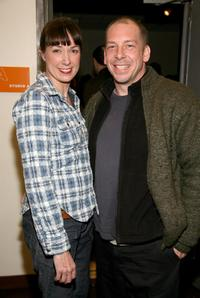 Elizabeth Marvel and Bill Camp at the opening night of