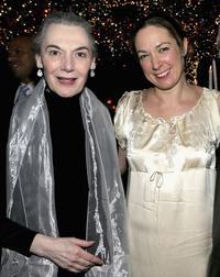 Marian Seldes and Elizabeth Marvel at the after party of the opening night of