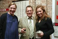 Elizabeth Marvel, Michael Weller and Amy Redford at the Cherry Lane Theater Gala.